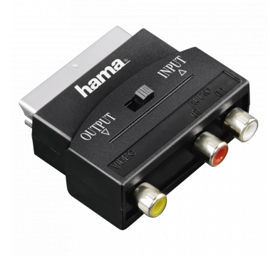 Hama Video Adapter 3x RCA to Scart