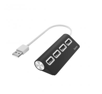 Hama USB Hub 4 Ports USB 2.0