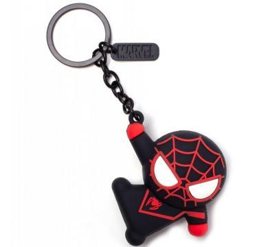Marvel - Miles Morales Kawaii Rubber 3D Keychain
