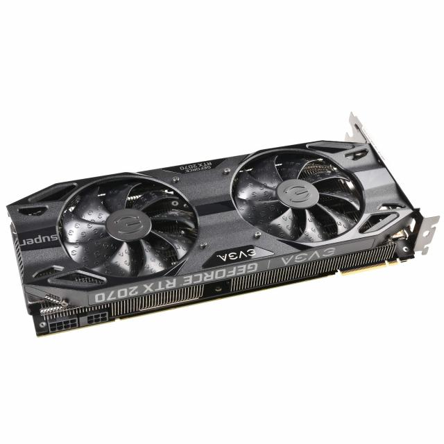 EVGA GeForce RTX 2070 SUPER BLACK GAMING, 08G-P4-3071-KR, 8GB