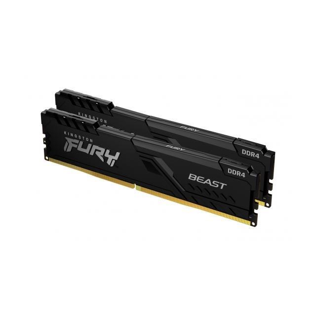 Kingston FURY Beast Black 16GB (2x8GB) 3600MHz