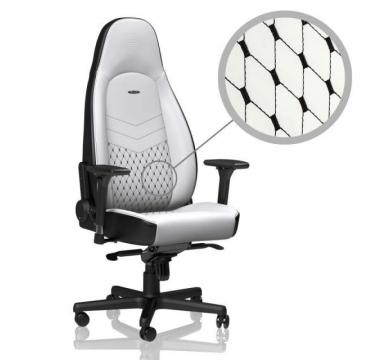 noblechairs ICON (White/Black) + Florpad MVP