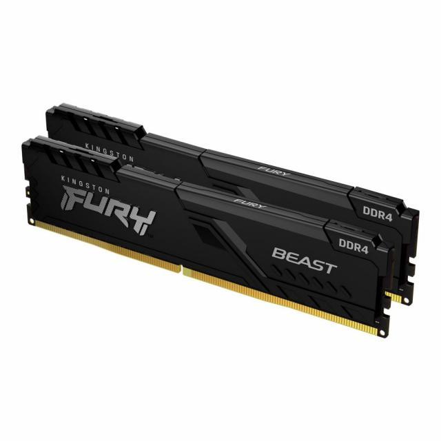 Kingston FURY Beast Black 8GB (2x4GB) 3200MHz