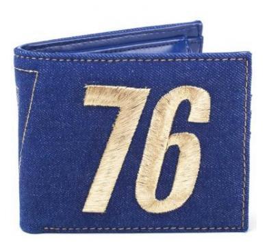 Fallout - Vault 76 Vintage Denim Bifold Wallet