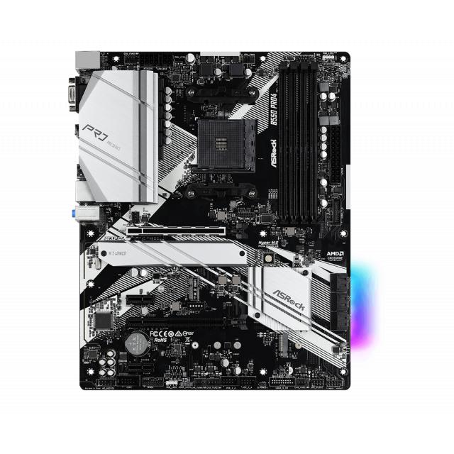 ASRock B550 Pro4 + AMD Ryzen 5 PRO 4650G