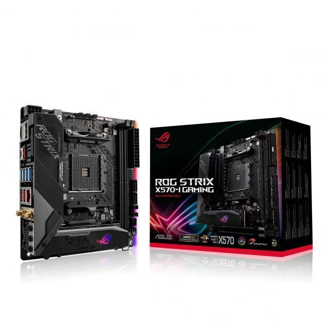 AMD Ryzen 9 5950X + ASUS ROG STRIX X570-I GAMING