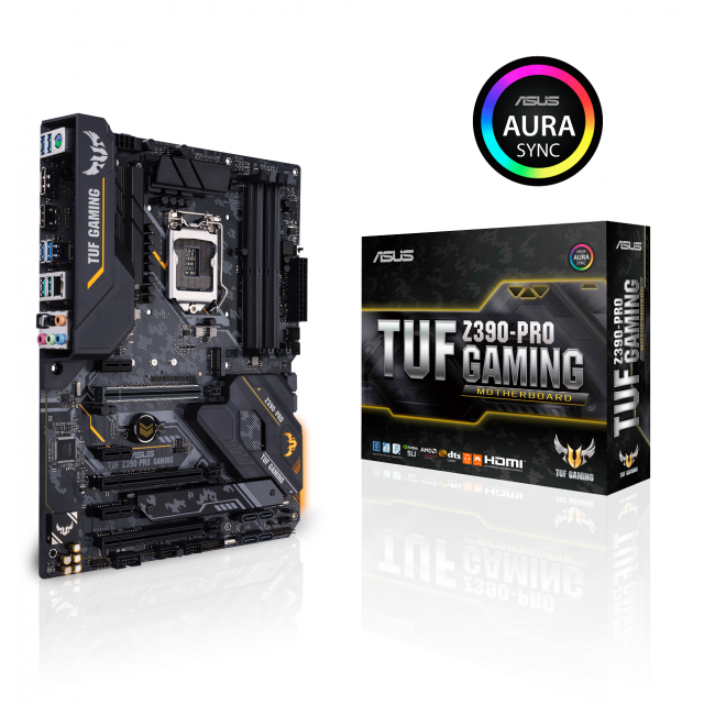 Intel Core i7-9700K + ASUS TUF Z390-PRO GAMING