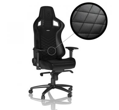 noblechairs EPIC Black + Florpad King's Throne