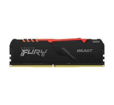 Kingston FURY Beast Black RGB 16GB 3600MHz
