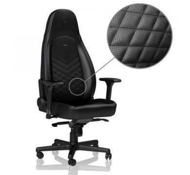 noblechairs ICON (Black) + Florpad Fnatic
