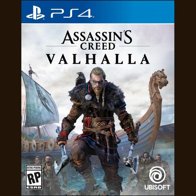 PS4 Assassin's Creed: Valhalla + PS4 Controller/Merch