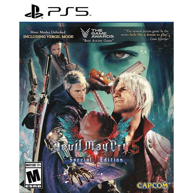 PS5 Devil May Cry 5 - Special Edition + Controller