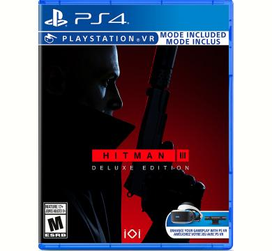 PS4 Hitman III Deluxe Edition + Controller