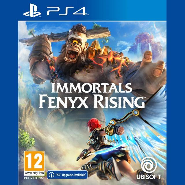 PS4 Immortals Fenyx Rising + PS4 Controller/Headphones