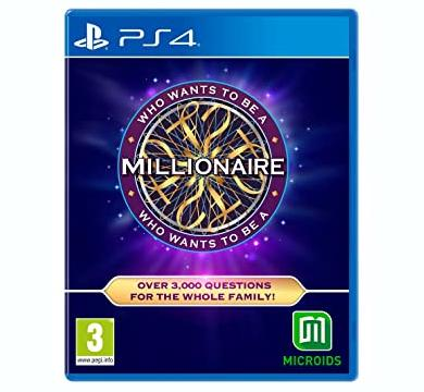 PS4 Who Wants to be a Millionaire + Nacon Headphones