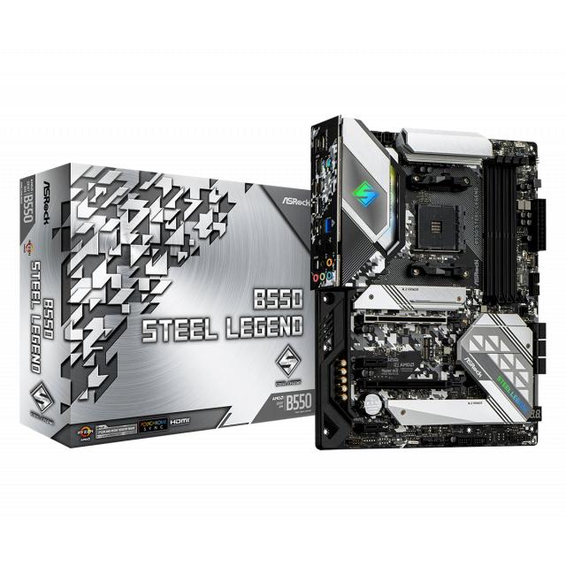 ASRock B550 Steel Legend + AMD Ryzen 7 3800XT