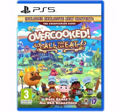PS5 Overcooked: All You Can Eat + Controller