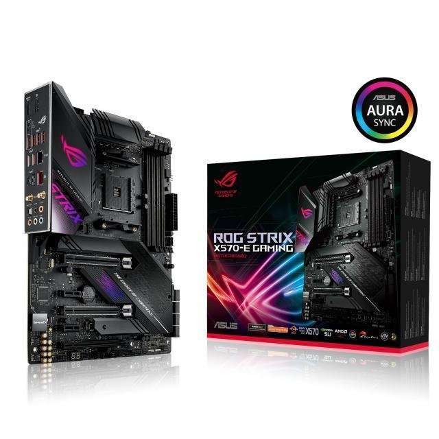 ASUS ROG Strix X570-E Gaming + AMD Ryzen 7 3800XT