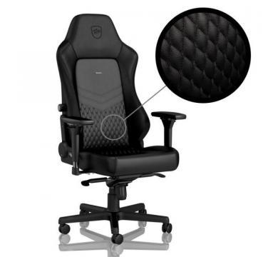 noblechairs HERO Real Leather + AKRacing Floormat (Blue)