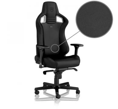 noblechairs EPIC (Black Edition) + Florpad Stealth Zone