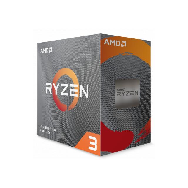 AMD Ryzen 3 3100 + ASRock B450M-HDV
