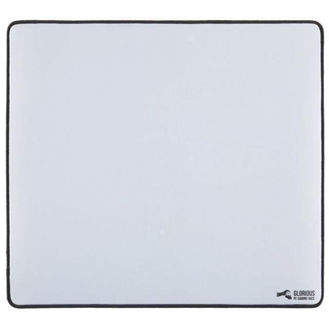 Glorious Model O (Matte White) + XL White Mousepad