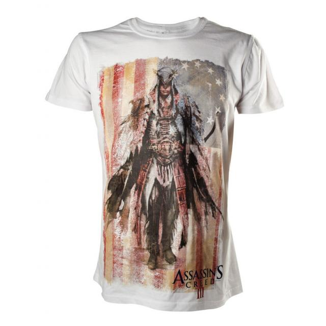 Assassin's Creed T-Shirt Concept Art White