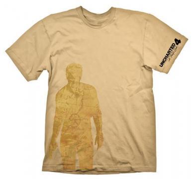 Uncharted 4 T-Shirt Nathan Drake Map