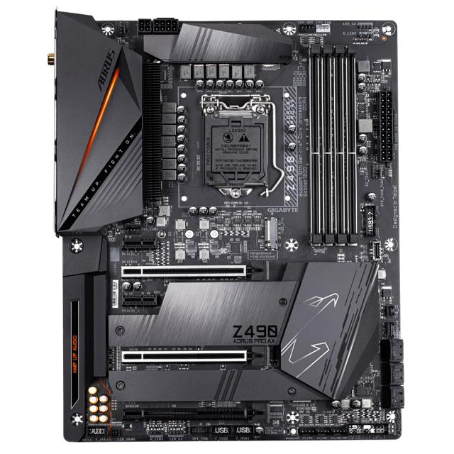 GIGABYTE Z490 AORUS PRO AX + AORUS RGB 16GB DDR4 (2x8GB) 3200MHz