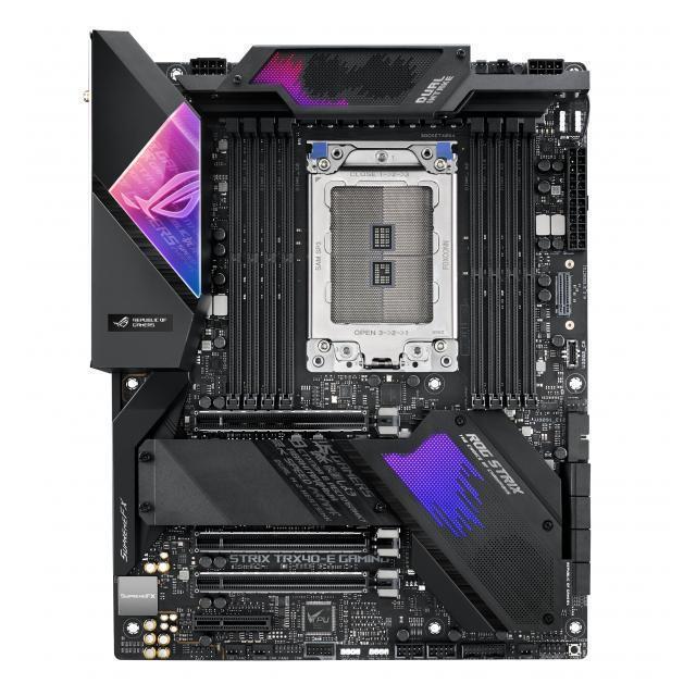 AMD Ryzen Threadripper 3990X + ASUS ROG Strix TRX40-E Gaming Wi-Fi