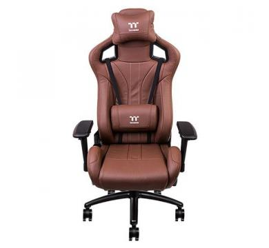 TteSports X Fit Real Leather Brown + Florpad Fnatic