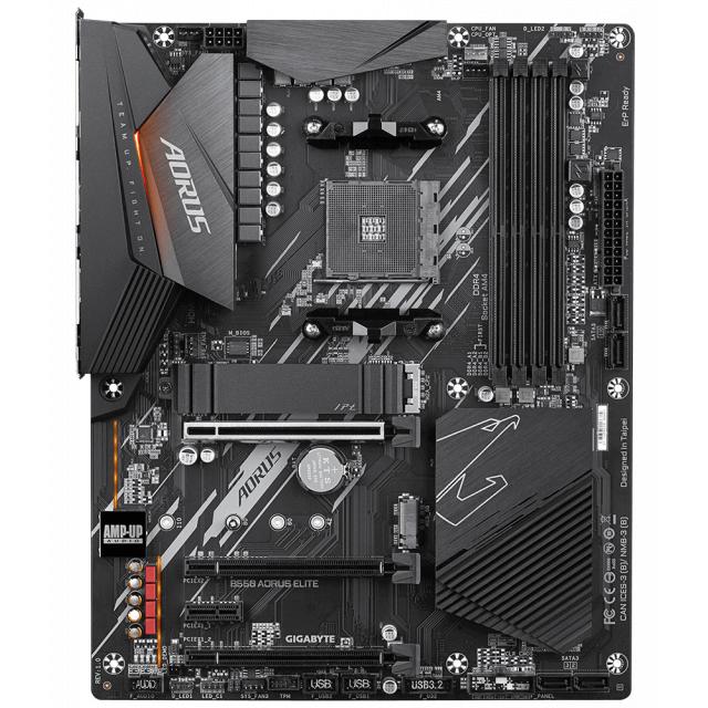 GIGABYTE B550 AORUS ELITE + AMD Ryzen 5 PRO 4650G
