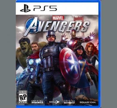 PS5 Marvel's Avengers + Controller