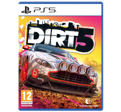 Dirt 5+ Racing Wheel