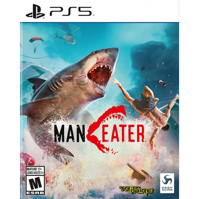 PS5 Maneater + Controller