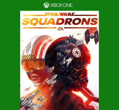 XBOX1 Star Wars: Squadrons + Star Wars Figure