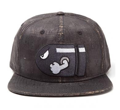 Nintendo - Bullet Bill Snapback With Embroidery