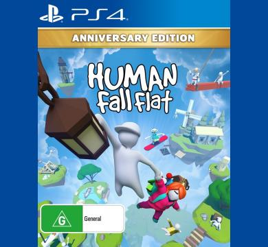 PS4 Human: Fall Flat - Anniversary Edition + PS4 Headphones