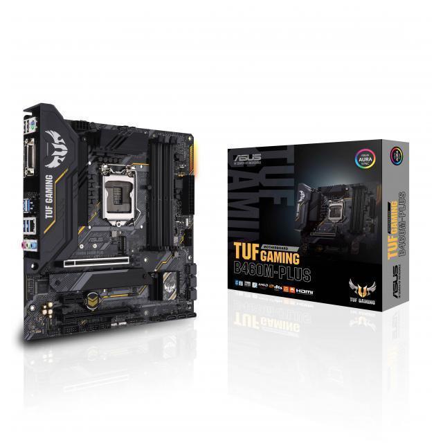 Intel Core i7-10700F + ASUS TUF GAMING B460M-PLUS