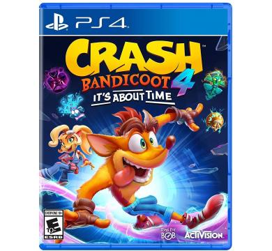 PS4 Crash Bandicoot 4: It's About Time + Action Figure