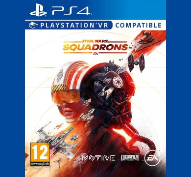 PS4 Star Wars: Squadrons + Star Wars Action Figure