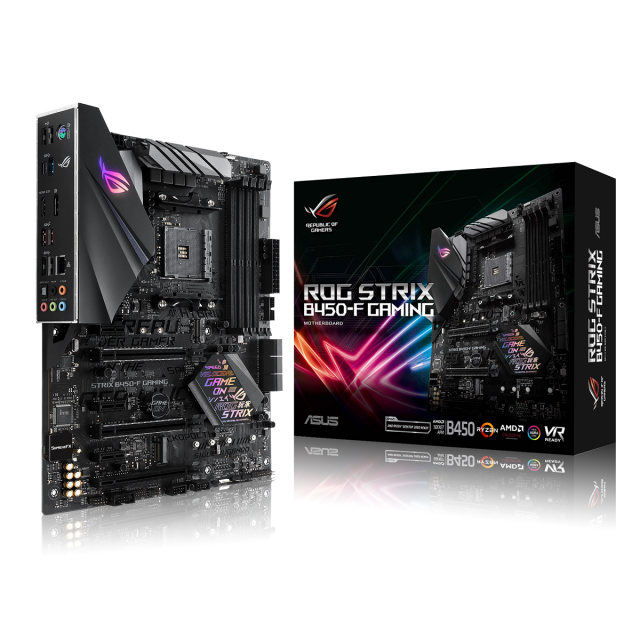 AMD Ryzen 5 3600 + ASUS ROG Strix B450-F Gaming