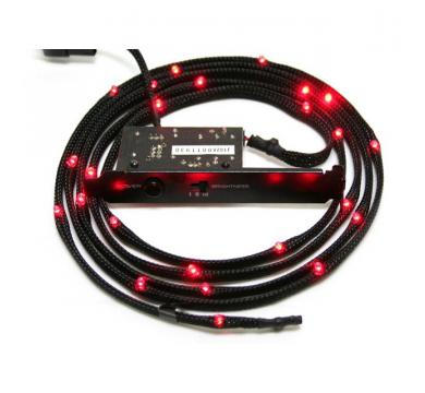 NZXT Sleeved LED Kit 1m Red