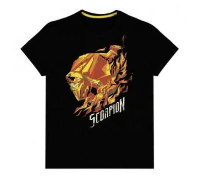 Mortal Kombat - Scorpion Flame Men's T-shirt