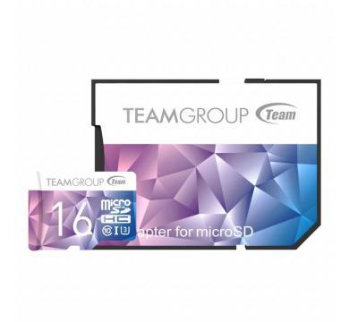 Team Group Color Card II UHS-I U3 MicroSDHC 16GB
