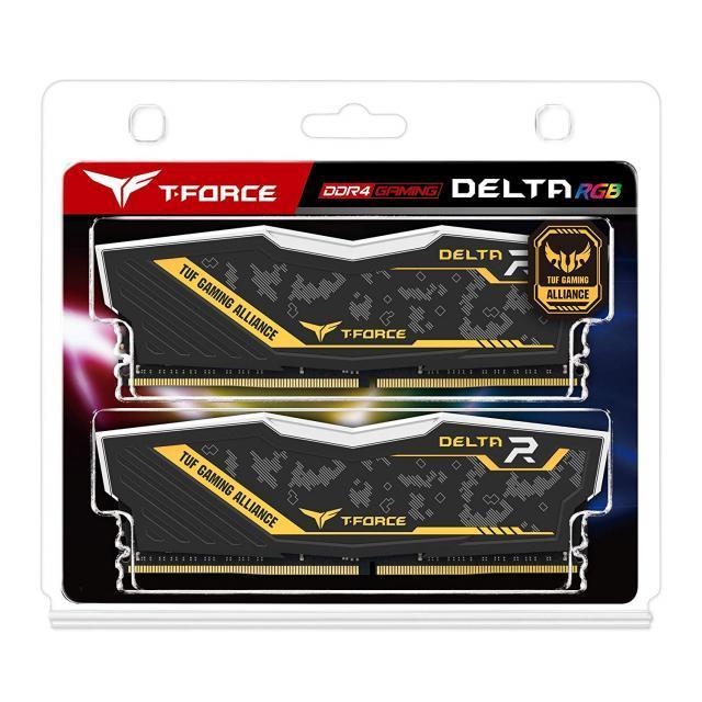 T-Force Delta RGB TUF 16GB(2x8GB) 3200 MHz