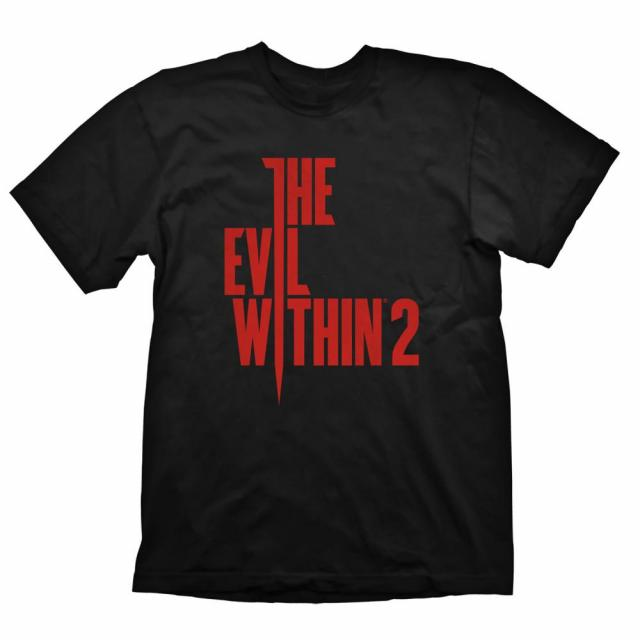 The Evil Within 2 T-Shirt Vertical Logo