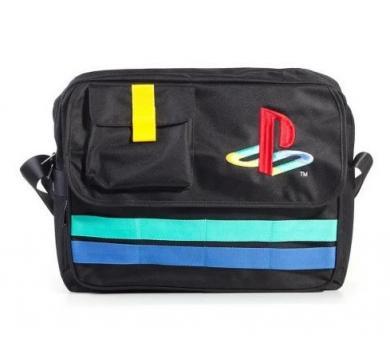 Playstation Retro Logo Messenger Bag