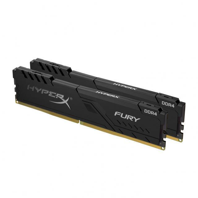 HyperX Fury Black 16GB (2x8GB) 2666 MHz