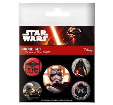 Pyramid International - Star Wars - Episode VII First Order Pin Badge Pack